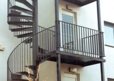 Bartın Yangın Merdiveni