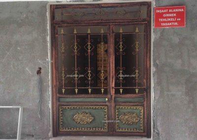 Zonguldak Demir Doğrama Bir Kapı Örneği
