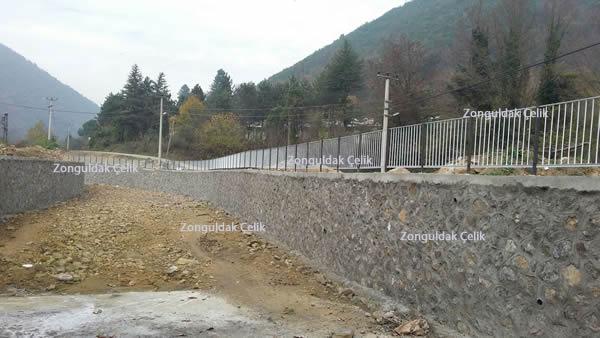 Devlet Su İşleri (DSİ) Zonguldak Deresi Taşkın Koruma Duvarları Feforje Projesi