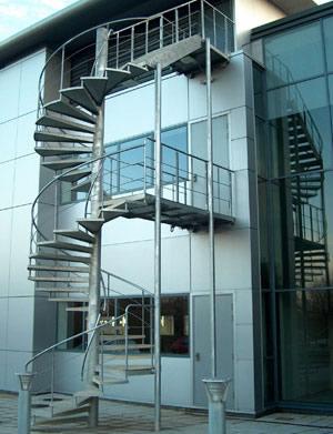 Zonguldak Yangın Merdiveni
