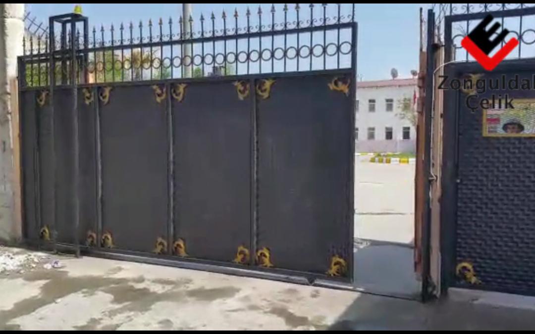 Zonguldak Cezaevi Otomatik Giriş Kapısı