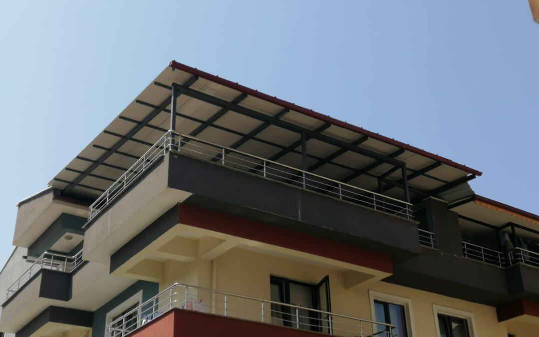 Apartman Teras Çatısı